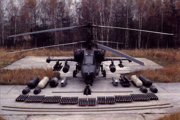 В итоге машину пришлось переделать в Ка-52. |Фото: forums.eagle.ru.