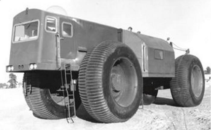 Alaskan Land Train: 150 тонн груза.
