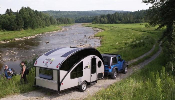 Трейлер для комфортного отдыха на природе.