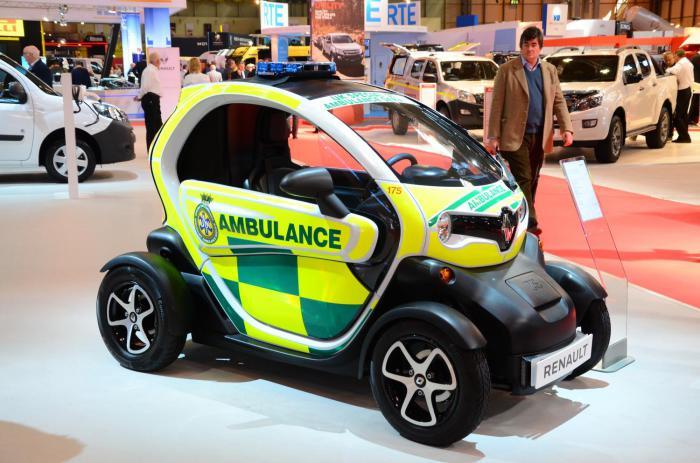Renault Twizy Cargo и другие необычные медицинские кареты.