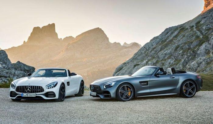 Новые родстеры от Mercedes: потрясающе стильные «хищники».