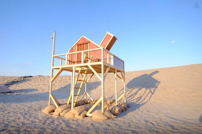 Песчаные дюны находятся в черте города.