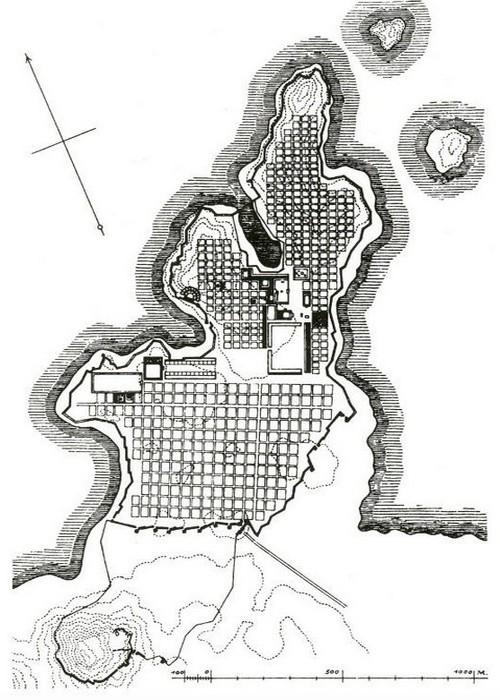 Городское планирование.