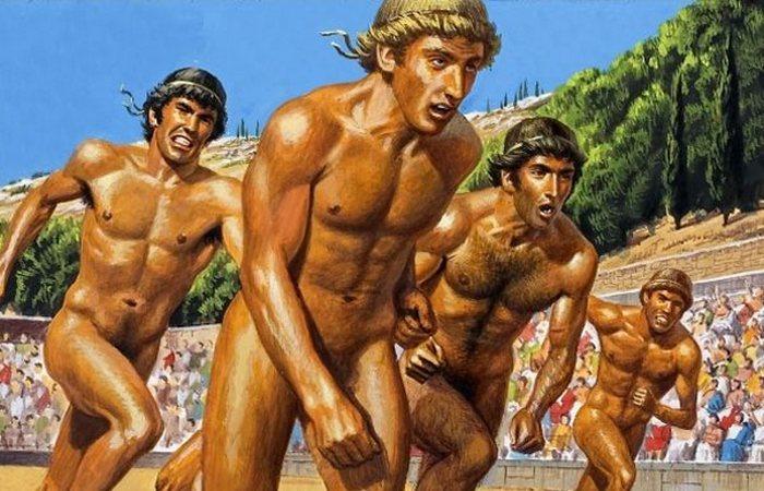 Олимпийский забег.