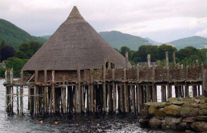 Древняя деревня.