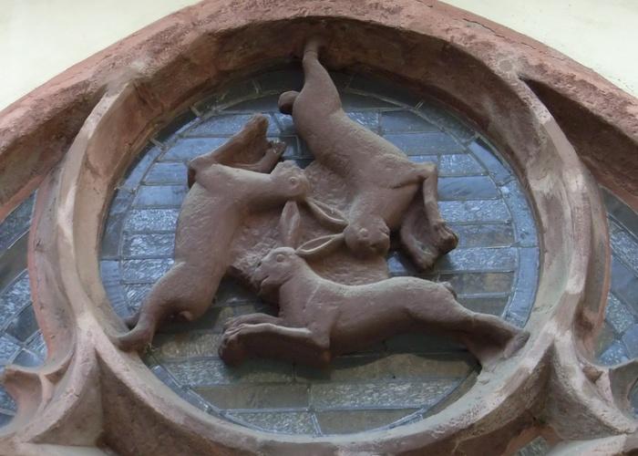 Символ «Три зайца».