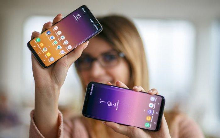 Красавцы Samsung Galaxy S8 и Galaxy S8+  хороши каждый по своему.