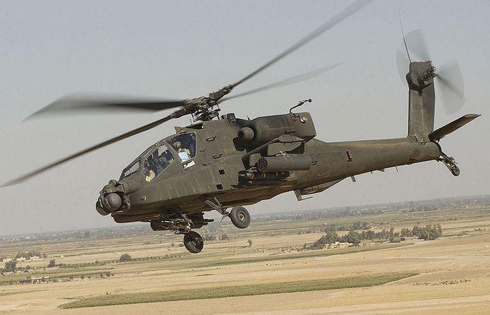 Apache AH-64 - быстрые, подвижные, внезапные.