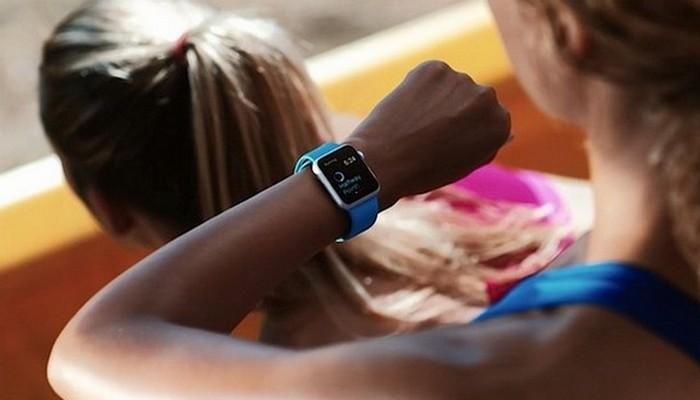 Приложение «Активность» в Apple Watch.