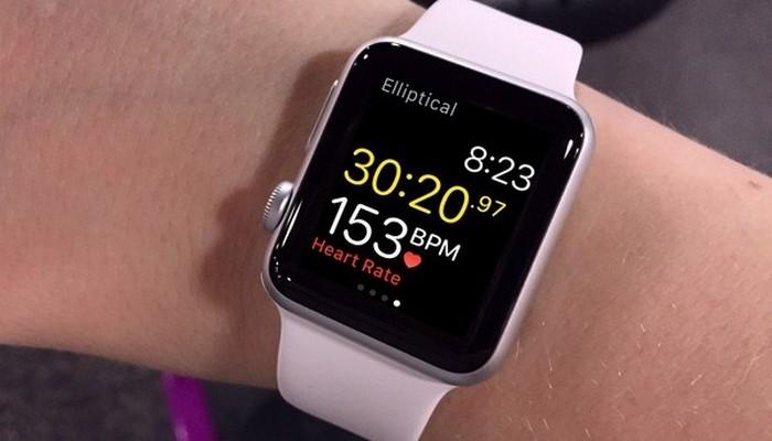 Контроль за здоровьем от Apple Watch.