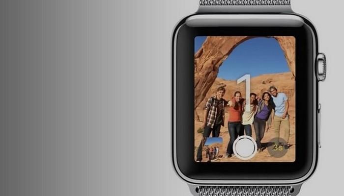 Удаленный видоискатель от Apple Watch.
