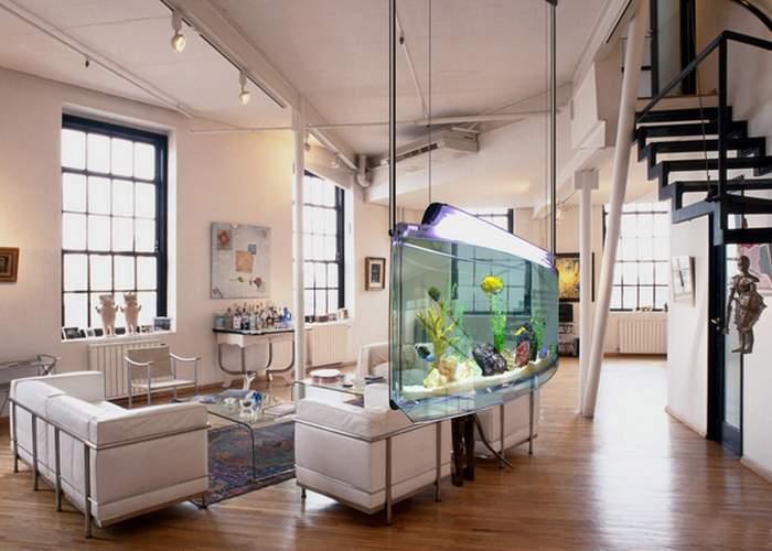 Подвесной аквариум «Spacearium».
