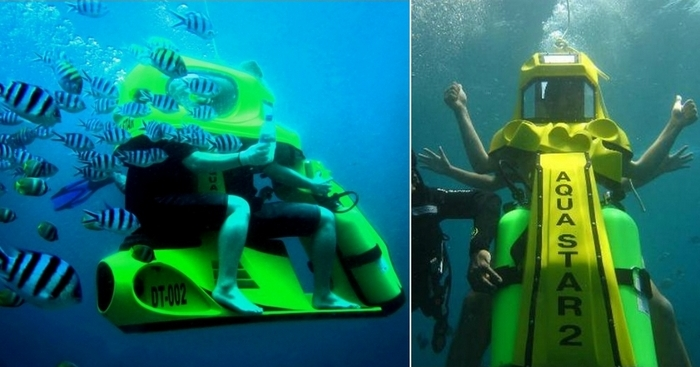Подводный скутер Aqua Star.