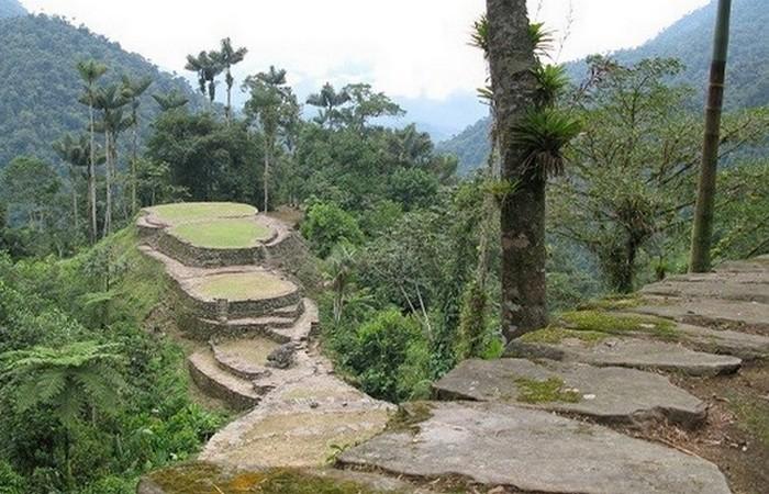 Древний город в Гондурасе.