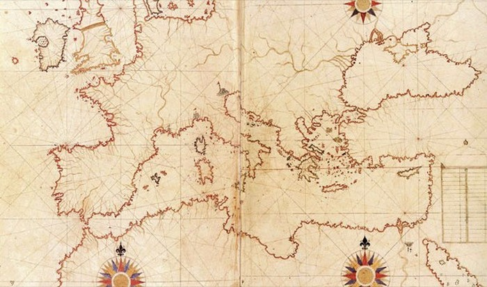 Карта Пири-реиса.