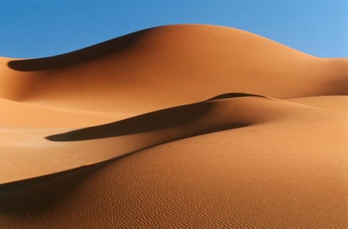 Жилые помещения в песчаных дюнах.