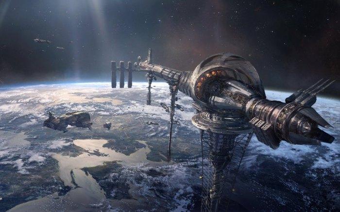 Космические лифты.