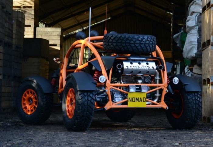 Ariel Nomad - идеальный авто для экстремальных условий.