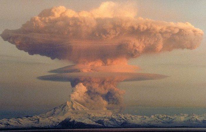 Это конец: супер вулкан.