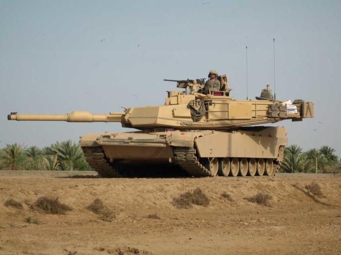 Лучший американский танк. |Фото: dmitryshulgin.com.