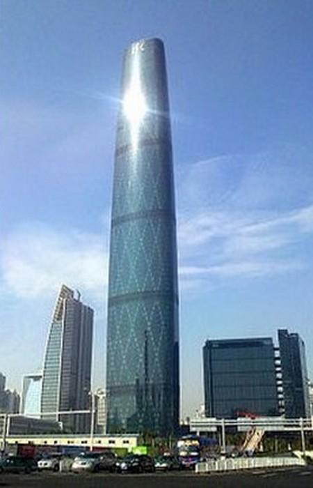 Международный финансовый центр Гуанчжоу.