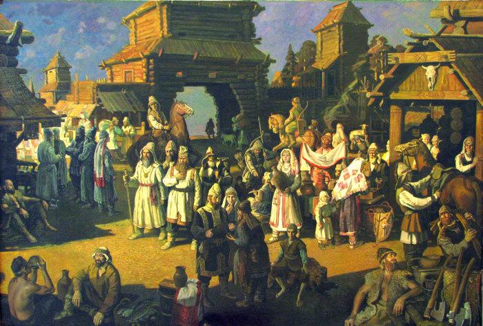 Систематизация появляется по мере развития торговли. |Фото: postila.ru.