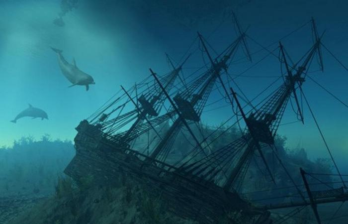 Корабли, храмы, пирамиды под водой.