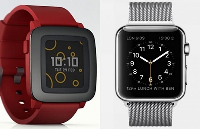 Смарт-часы Pebble Time.
