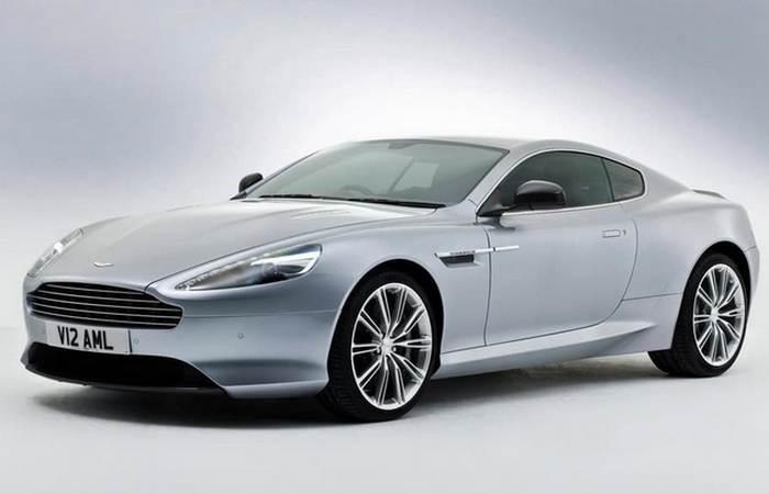 Автомобиль Aston Martin DB9 GT.