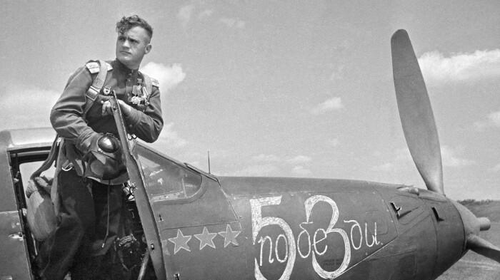 Советские асы сбивали немало самолетов.  Фото: ava.org.ru.