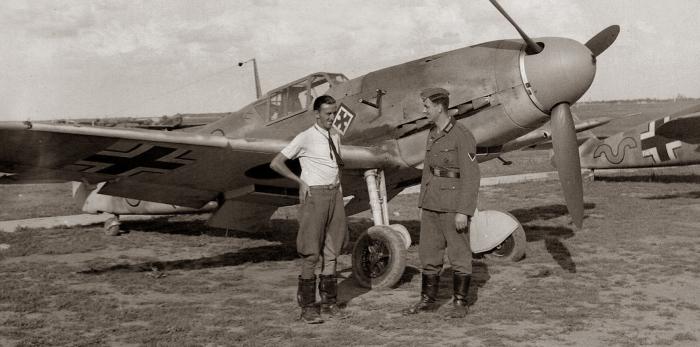Но на фоне статистики Люфтваффе достижения наших летчиков меркнут.  Фото: history-doc.ru.