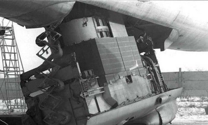 Ядерный реактор в Ту-95. |Фото: aftershock.news.