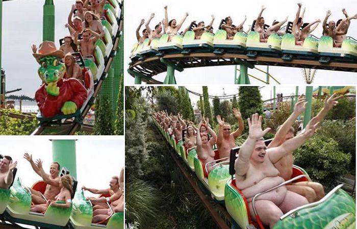 Горке Green Scream  в Саутенде-он-Си.