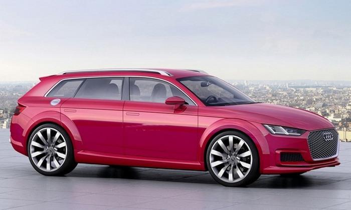 Концепт семейного автомобиля Audi TT Avan.