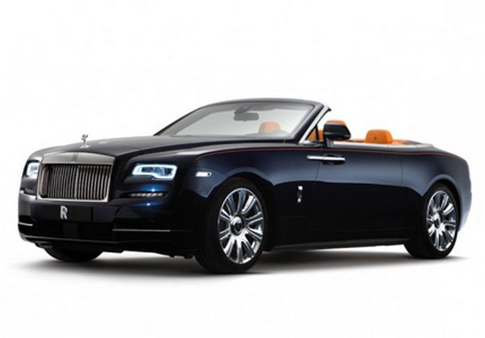 Автомобиль Rolls-Royce Dawn.