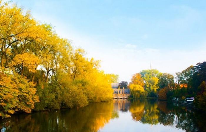 Осенний Брюгге.
