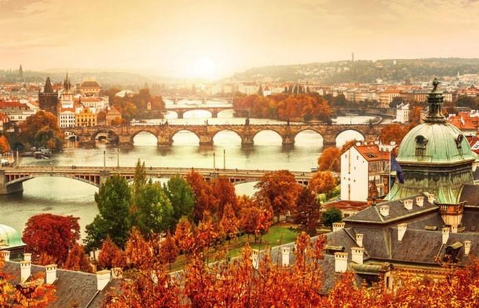 Осенняя Прага.