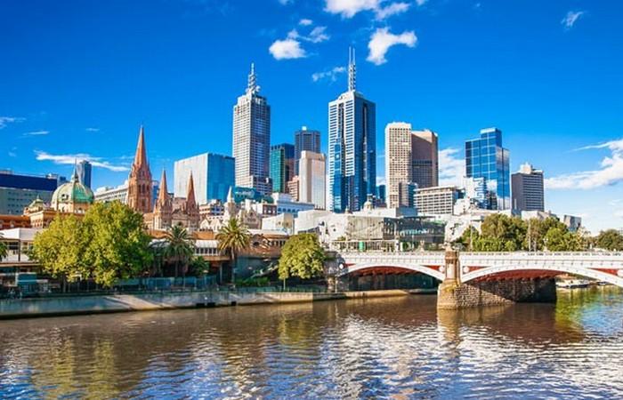 Осенний Мельбурн.