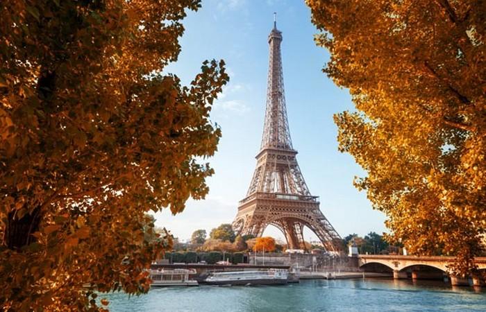 Осеннее очарование Парижа.