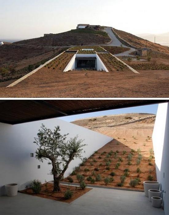 Каменный пустынный дом «Deca».
