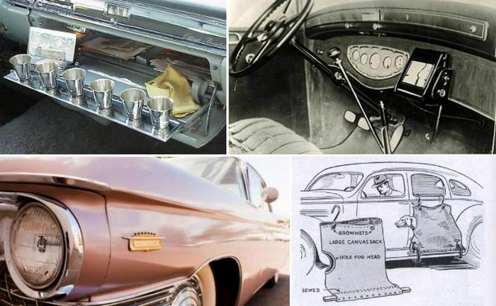Cумасшедшиt навороты, которые использовались в старых авто.
