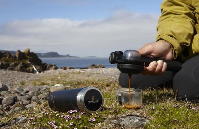 Handpresso Wild Espresso Maker - мобильная кофеварка.