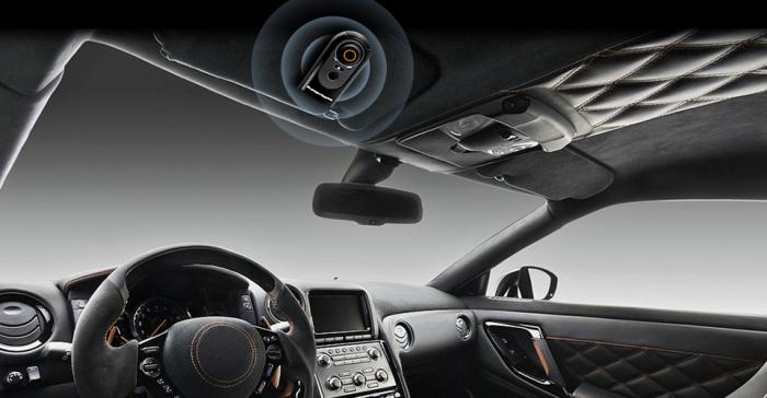 SuperTooth HD - самый мощный автомобильный микрофон.