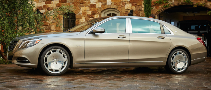 Mercedes-Benz Maybach S600.