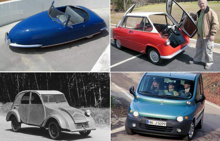 Самые нелепые авто.