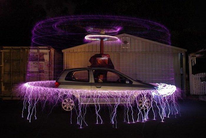 Катушка Тесла и другие автомобильные странности.