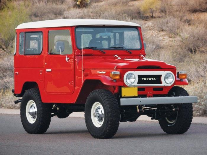 Toyota FJ40 Land Cruiser.