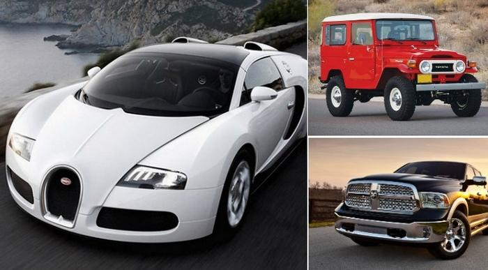 Автомобили для настоящих мачо.