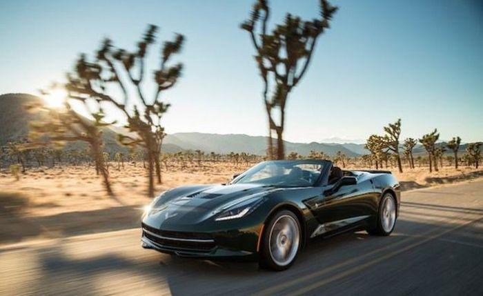 Chevrolet Corvette Convertible - автомобиль для любителей «зажечь».