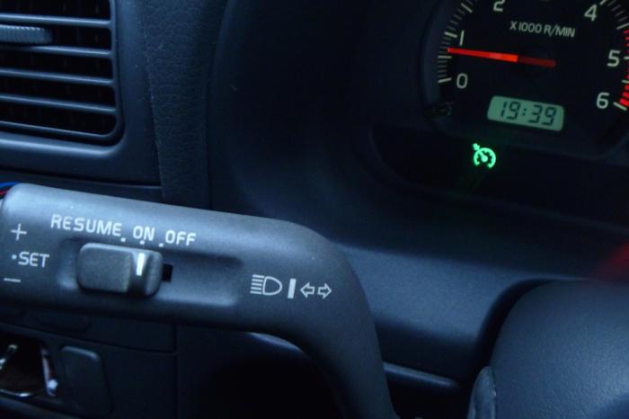 Круиз-контроль со встроенным GPS.